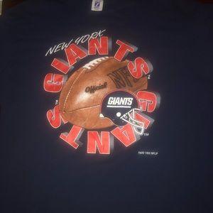 Old vtg New York Giants 1996 T-shirt single stitch